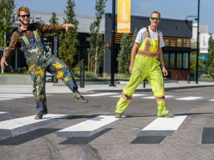 3d Crosswalk Calgary