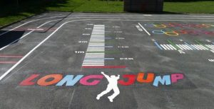Long Jump Playground Game