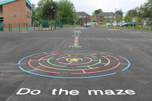 Playground Maze Game