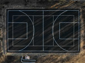 Sports Court Line Painting