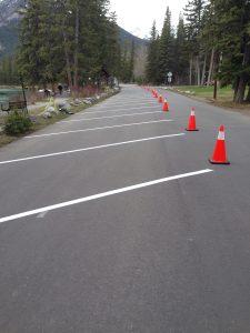 Line Painting Banff