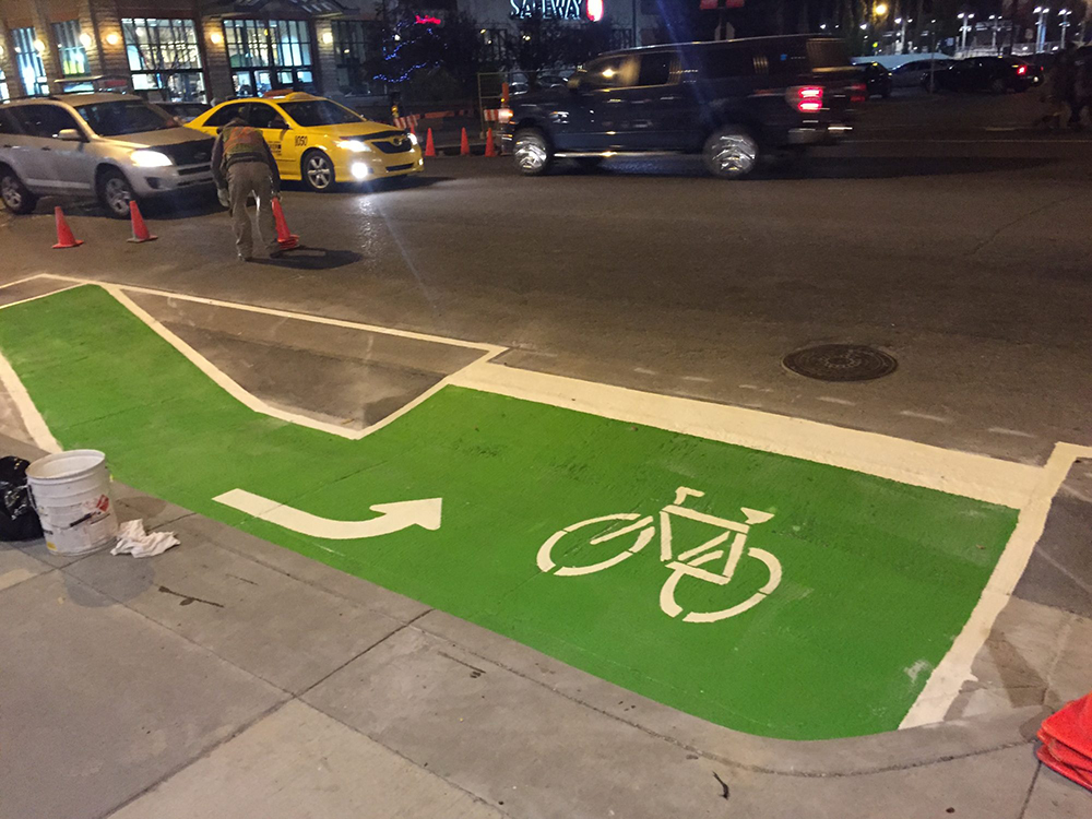 Bike Lane Paint