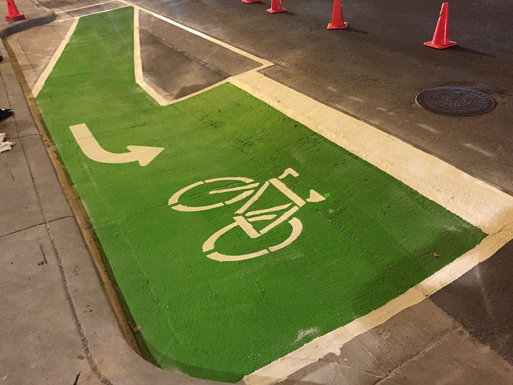 Quality Bike Lane Markings