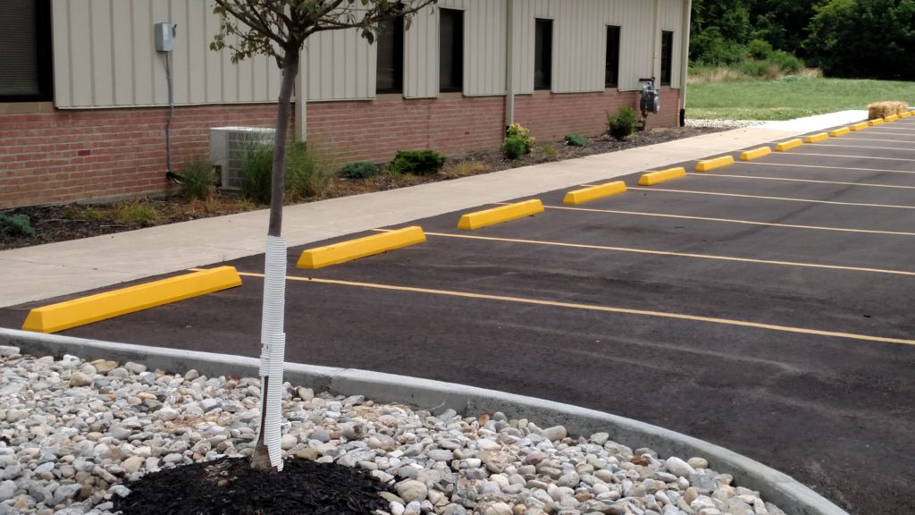 Parking Block Installation