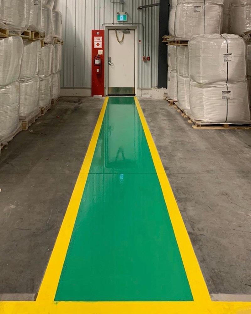 Custom Epoxy Flooring for Warehouse