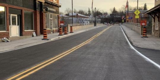Bridge Line Painting Ottawa
