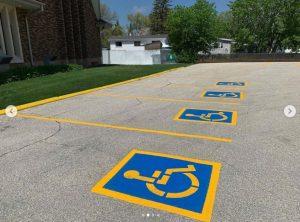 Custom Stencilling Project in Winnipeg