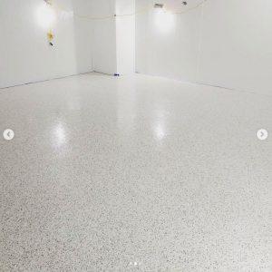 Flake Epoxy Flooring Sudbury